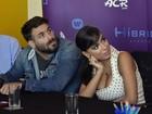 Fernanda Rodrigues comenta polêmica sobre o marido e Anitta