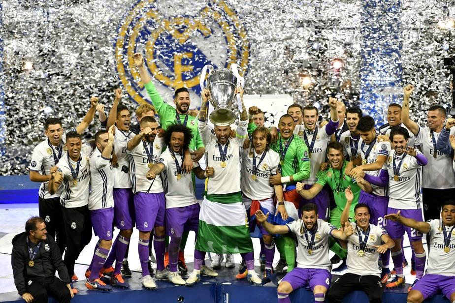 Galeria de fotos: a festa do Real Madrid após vencer a Liga dos Campeões