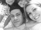Hulk curte último dia de folga com a família antes da Copa do Mundo