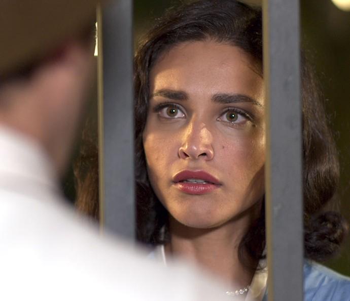 Pobre Filomena! (Foto: TV Globo)
