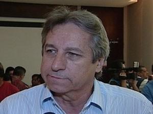 Luiz Humberto Alves Borges, presidente do Uberaba Sport (Foto: Reprodução/TV Integração)