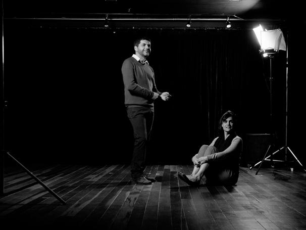 Lucas Gouvêa e Luisa Friese estrelam o espetáculo 'Vulgar' (Foto: divulgação)