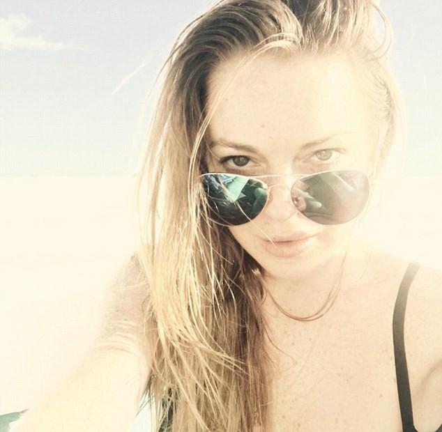 Lindsay Lohan (Foto: Reprodução/ Instagram)