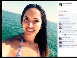 Maria Maceno morreu no acidente (Foto: Reprodução/Facebook)