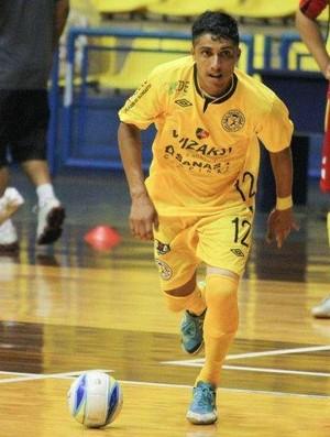 Pitoko novo atleta do Suzano Futsal (Foto: André Montejano)