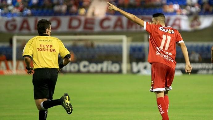 Gerson Magrão, meia do CRB (Foto: Ailton Cruz/Gazeta de Alagoas)