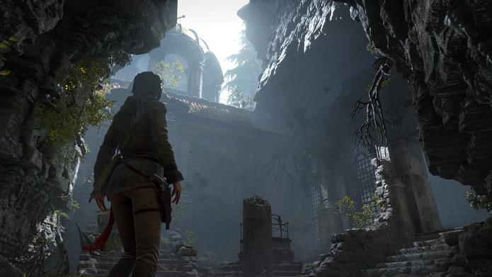 A nova aventura de Lara Croft chega ao PC no final de janeiro (Divulgação/Square Enix)