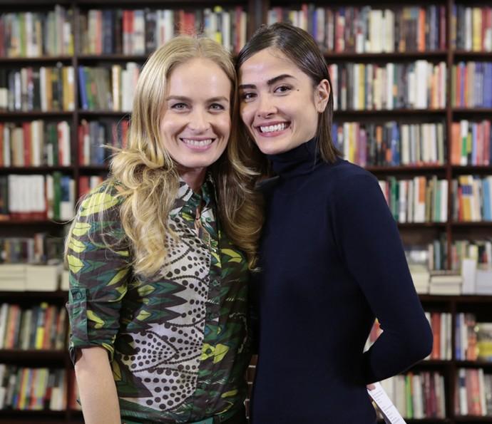 Angélica entrevistou Maria Casadevall (Foto: Gshow)