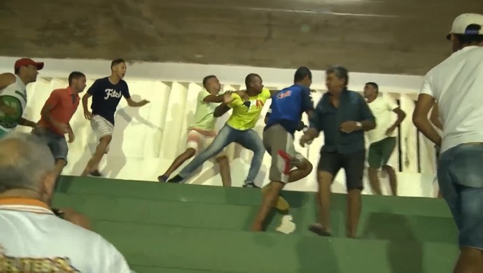 briga, val paraíba, campeonato paraibano da 2ª divisão (Foto: Reprodução / TV Paraíba)