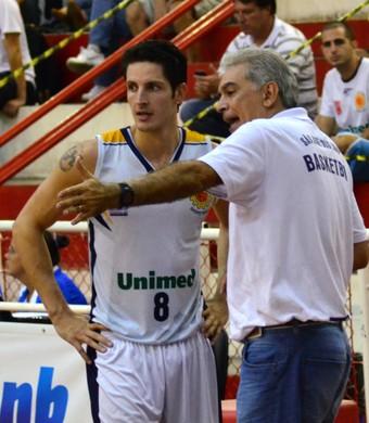 Técnico Luiz Zanon Dedé São José Basquete (Foto: Danilo Sardinha/GloboEsporte.com)