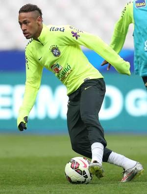 Neymar em treino da seleção brasileira (Foto: Rafael Ribeiro / CBF)