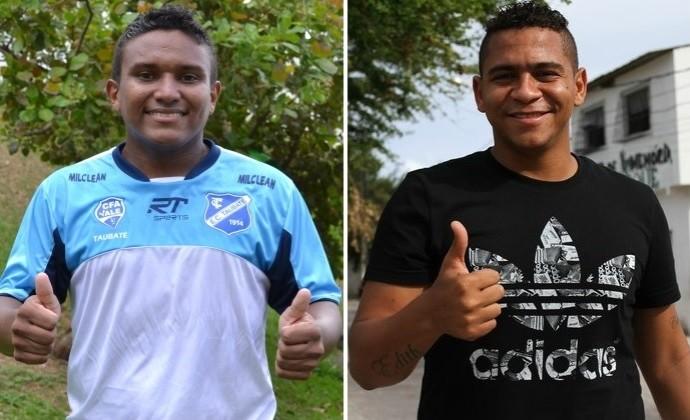 Waltinho Taubaté Walter Fluminense (Foto: Montagem com fotos de Filipe Rodrigues e Aldo Carneiro/ Pernambuco Press)