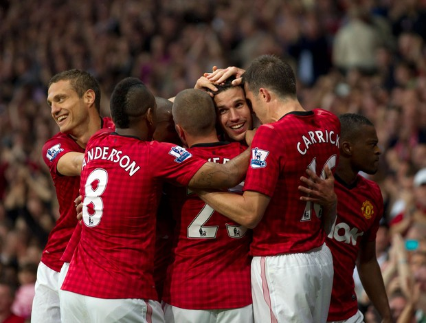 van Persie gol manchester United (Foto: AP)