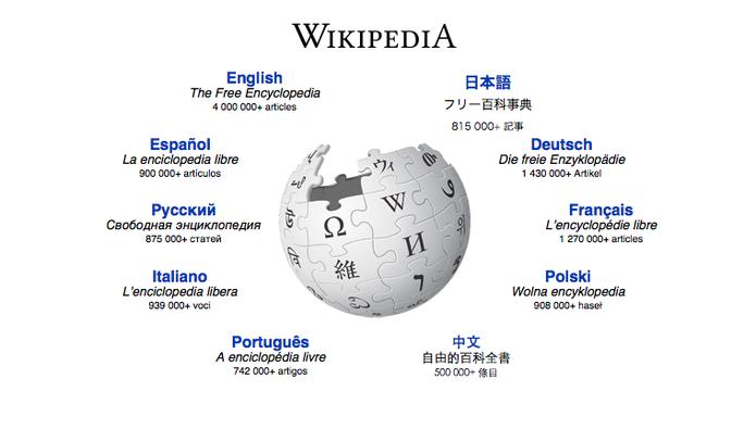 Veja os artigos mais editados da Wikipédia nos últimos 15 anos (Foto: Divulgação/Wikipédia)