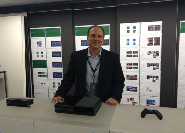 Ben Kilgore, vice-presidente corporativo da divisão de entretenimento do Xbox (Foto: Bruno Araujo/G1)