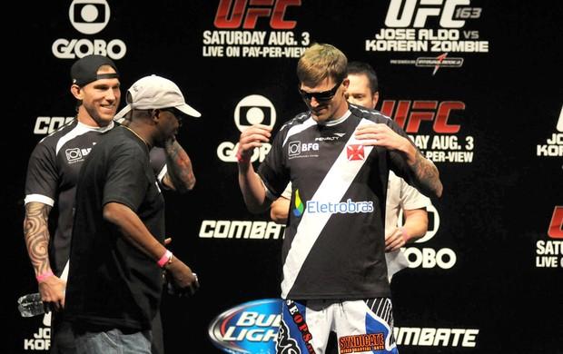 Bristol Pesagem UFC RIO 4 (Foto: Andre Durão)