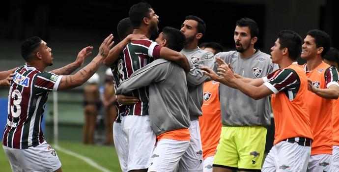 fluminense, gol, gum (Foto: Mailson Santana/Fluminense FC)
