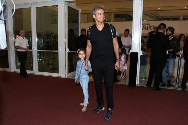 Otaviano Costa e Olívia (Foto: Alexander Palarea / AgNews)