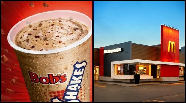 McDonald's e Bob's são pivô de uma briga que ganhou as redes sociais  (Foto: Reprodução)