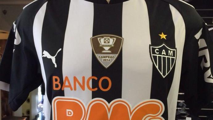 Patch Copa do Brasil camisa do Atlético-MG (Foto: Divulgação \Loja do Galo - Betim)