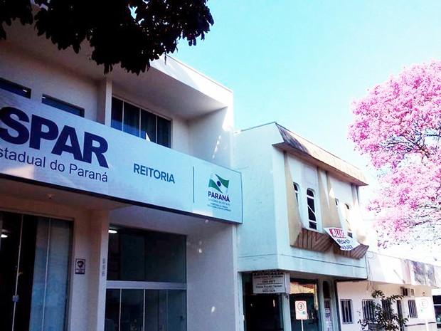 Vestibular será realizado em seis cidades do Paraná, incluindo Paranavaí, sede da reitoria da Unespar (Foto: Divulgação/ Unespar)