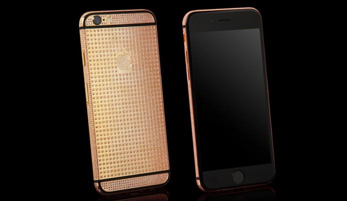 Versão iPhone 6S Supernova da Goldgenie (Foto: Divulgação/Goldgenie)