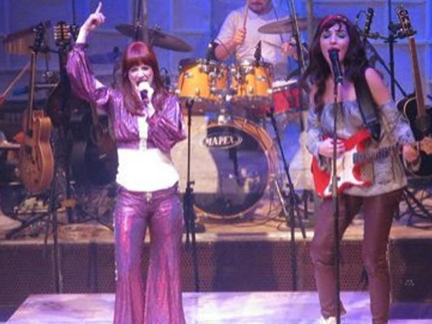 Clássicos de Rita Lee e outros artistas são apresentados no musical (Foto: Divulgação)