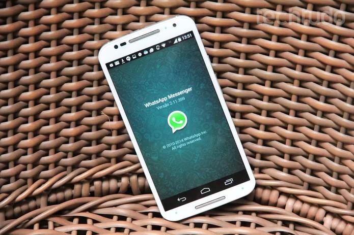 Versão do WhatsApp para Android (Foto: Anna Kellen Bull/TechTudo)