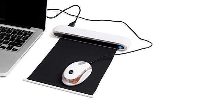 Mouse pad com hub de 4 portas USB (Foto: Reprodução/Americanas)