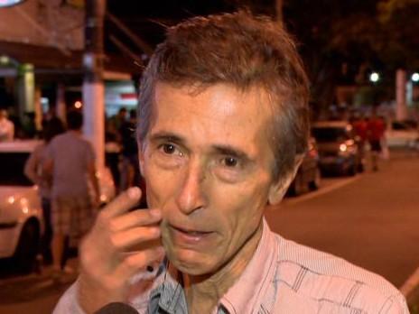 Quase um ano após o acidente, família de Vinícius não se conforma (Foto: Reprodução/ TV Gazeta)
