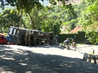 Estrada do Joá é reaberta após seis horas de interdição por acidente