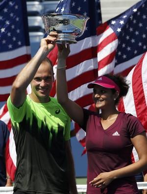 tenis bruno soares sania mirza us open (Foto: Reuters)