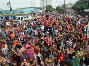 a banda, 2017, carnaval, amapá (Foto: Jéssica Alves/G1)