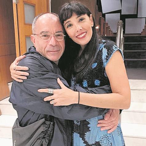 Ricardo Blat foi assistir à peça 'Clarice Lispector e eu, o mundo não é chato', com Rita Elmôr (Foto: Christiano Nascimento)