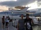 Neymar curte fim de semana ostentação em Santa Catarina
