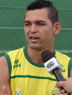 Casagrande, atacante do Coruripe (Foto: Leonardo Freire/GloboEsporte.com)