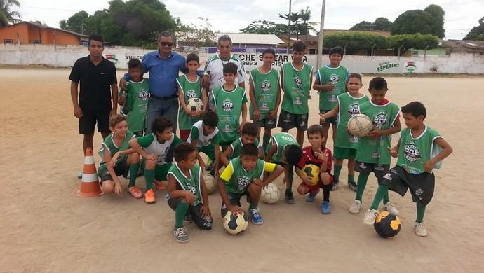 Escolinha de Futebol Semear Vida em Roraima (Foto: Reprodução/Facebook)