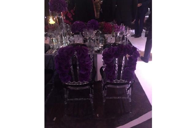 Aqui os noivos se sentarão: Roberto Justus e Ana Paula Siebert (Foto: Reprodução)