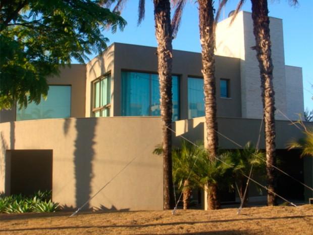 Presidente de Oscip tem mansão em condomínio de luxo, segundo PF (Foto: Reprodução/Polícia Federal)
