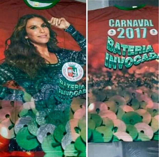 Ivete Sangalo é homenageada na Grande Rio (Foto: Instagram / Reprodução)