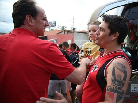 Rogério Ceni e Rogério Ceni (Foto: Rubens Chiri / São Paulo Futebol Clube)