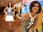 Fátima Bernardes fala sobre look igual ao de Bruna Marquezine