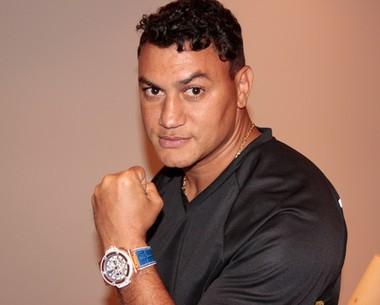 'O amor pelo boxe me fez voltar', afirma Popó sobre seu retorno (Marcos Mazini/Gshow)