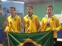 Mesatenista do AP conquista o bronze em equipe no Sul-Americano na ARG