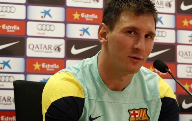 Messi entrevista Barcelona (Foto: Reuters)