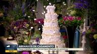 No Quadro Verde, Ananda Apple mostra os arranjos de flores para cerimônias de casamento