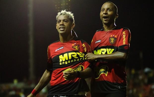 Marcelinho Paraíba e Willians - Sport (Foto: Divulgação / Sport)