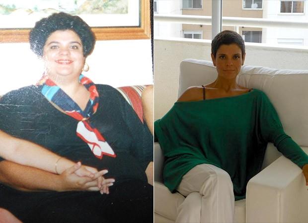 Antes e Depois - Petê (Foto: Arquivo Pessoal)