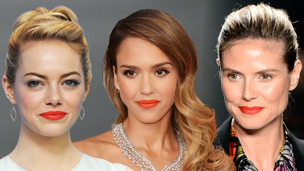 Emma Stone, Jessica Alba e Heidi Klum  (Foto: Getty Images)