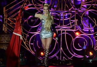 Joelma em show em Belém do Pará (Foto: Francisco Silva/ Ag. News)